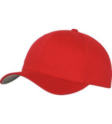 Foto von Baseball Cap Flex rot