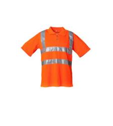 Foto von Warnschutz Poloshirt PLA orange