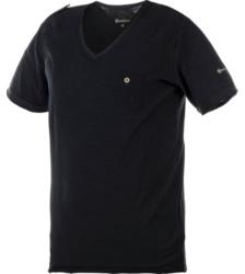 foto di T-shirt Slub nero