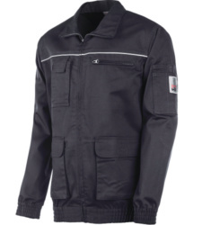 Photo de Veste de travail Classic 100% coton Marine