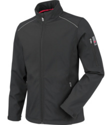 Photo de Softshell de travail City Würth MODYF noire