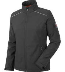 Foto van Softshell City Dames Zwart