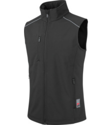 foto di Gilet nero City in softshell