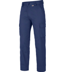 Photo de Pantalon de travail 100% coton Classic Würth MODYF bleu royal