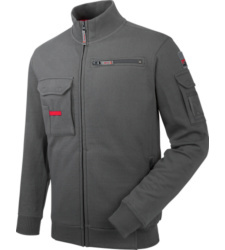 Photo de Sweat de travail Fullzip Dynamic+ Würth MODYF gris