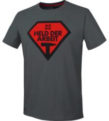 Foto von Arbeits T-Shirt anthrazit