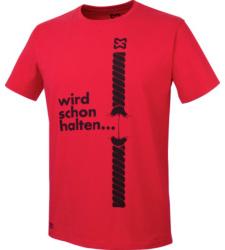 Foto von Arbeits T-Shirt rot