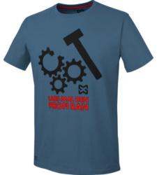Foto von Arbeits T-Shirt dunkelblau