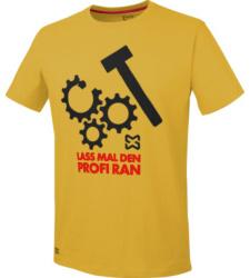 Foto von Arbeits T-Shirt gelb