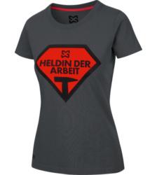 Foto von Arbeits T-Shirt Damen anthrazit