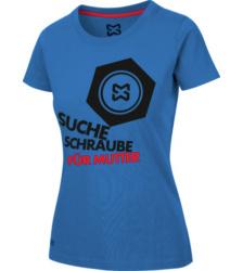 Foto von Arbeits T-Shirt Damen royalblau