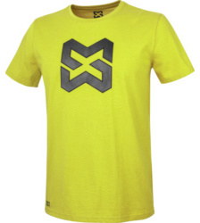 foto di T-shirt uomo Logo lime
