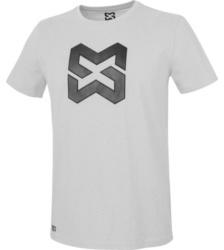 Foto von Arbeits T-Shirt Logo IV hellgrau