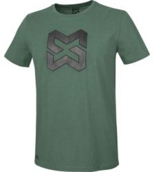 foto di T-shirt uomo Logo verde