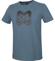 foto di T-shirt uomo Logo blu