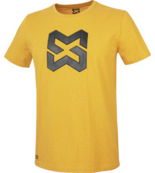 foto di T-shirt uomo Logo senape