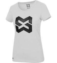 Foto von Arbeits T-Shirt Logo IV Damen hellgrau