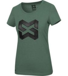 Foto von Arbeits T-Shirt Logo IV Damen grün