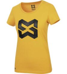 Foto von Arbeits T-Shirt Logo IV Damen senfgelb