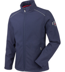 foto di Giacca Softshell City navy