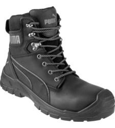 Photo de Chaussures de sécurité montantes Puma Conquest S3 WR HRO SRC Noires