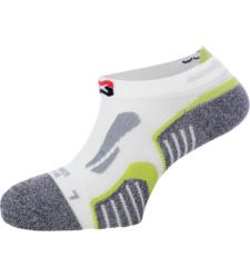 Photo de Chaussettes sneakers de travail Würth MODYF blanches/vertes
