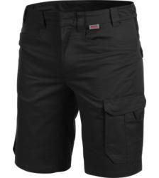 Metallfreie Bermuda, hochwertige Bermuda, Shorts mit praktischen Taschen, Bermuda für Handwerker, Bermuda für industrielle Reinigung, Arbeits-Shorts schwarz