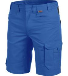 Metallfreie Bermuda, blaue Bermuda, Bermuda für Handwerker, Bermuda OEKOTEX 100 Standard, bequeme Bermuda