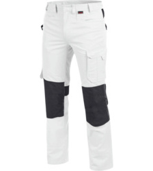 Photo de Pantalon de travail Cetus Würth MODYF blanc/anthracite