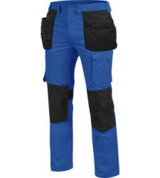 Widerstandsfähige Bundhose, metallfreie Bundhose, Bundhose OEKO-TEX® Standard 100, Bundhose für professionelle Reinigung geeignet, Bundhose blau