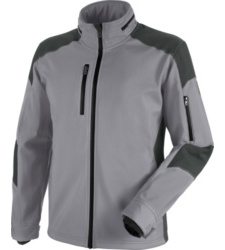Photo de veste softshell de travail cetus würth modyf grise/anthracite