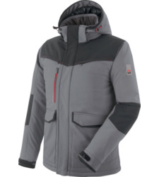 Foto von Softshelljacke Winter Stretch X grau
