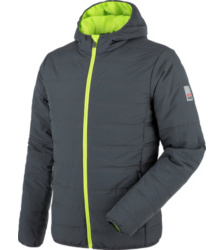 Photo de Blouson de travail Matelassé Moon Anthracite/Lime