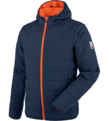 Photo de Blouson de travail Matelassé Moon Marine/Orange