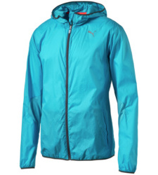 foto di Hooded Lightweight windbreaker