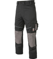 Photo de Pantalon de travail Star Line Plus noir/gris