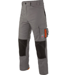 Photo de Pantalon de travail Star Line Plus gris/orange