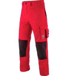 Photo de Pantalon de travail Star Line Plus rouge/noir