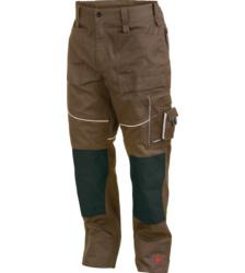 Photo de Pantalon de travail Star Line Plus vert olive/noir