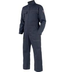 Blauer Arbeitsoverall für Handwerker, aus hochwertiger Baumwolle, günstig undbequem