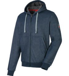 Foto von Sweatjacke Denim Blau
