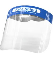 foto di Visiera protettiva viso trasparente