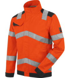 Photo de Veste de travail Fluo Haute-Visibilité Würth MODYF Orange/Anthracite