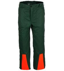Praktische Schnittschutzhose mit Taschen, Scnittschutzbundhose mit leichtem Innenfutter, Hose für Arbeiten in Forst- und Waldgebieten