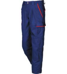 02f25e21dd Pantalón de Trabajo Modyf Azul Rojo