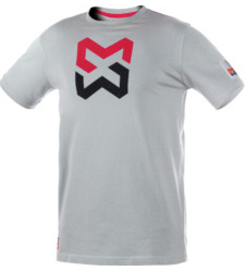 Photo de Tee-Shirt Modyf X Finity Steel Gris