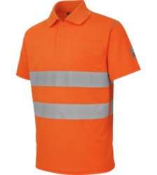 Photo de Polo de travail Würth MODYF haute-visibilité orange
