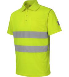 Foto van Würth MODYF 2-in-1 high-visibility werkpolo, geel