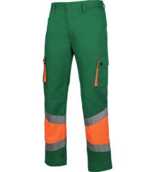 Foto de Pantalón de Trabajo Alta Visibilidad 1/2 Naranja/Verde