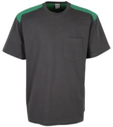 Foto de Camiseta Combi Gris/Verde